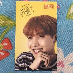 BTS 100% AUTHENTIC BBQ J-Hope photocard